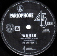 EASYBEATS  -   Women (make you feel alright)/ In my book (G74186/7s)