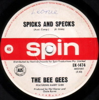 BEE GEES  -   Spicks and specks/ I am the world (G771202/7s)