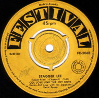 JOYE,COL & JOY BOYS  -   Stagger Lee/ Sixteen candles (G771206/7s)