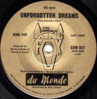 KING FOX  -   Unforgotten dreams/ Alone, so alone (82255/7s)