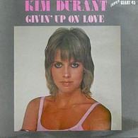 DURANT,KIM  -   Givin' up on love (extended disco version)/ Givin' up on love/ Lift me (G86109/12s)