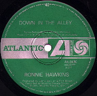 HAWKINS,RONNIE  -   Down in the alley/ Matchbox (G44200/7s)