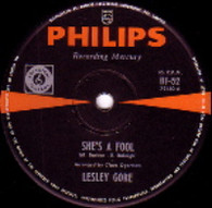 GORE,LESLEY  -   She's a fool/ The old crowd (G58169/7s)