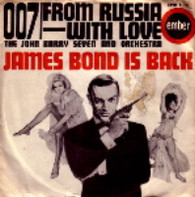 JOHN BARRY SEVEN & ORCHESTRA  -   007/ From Russia with love (G58223/7s)