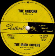 IRISH ROVERS  -   The unicorn/ Black velvet band (G58201/7s)