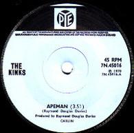 KINKS  -   Apeman/ Rats (59235/7s)