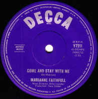 FAITHFULL,MARIANNE  -   Come and stay with me/ What have I done wrong (59150/7s)