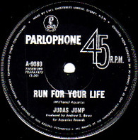 JUDAS JUMP  -   Run for your life/ Beer-drinking woman (59221/7s)