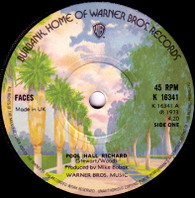 FACES  -   Pool hall Richard/ I wish it would rain (With a trumpet) (59148/7s)