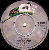 DOORS  -   Love her madly/ (You need meat) don't go no further (59116/7s)