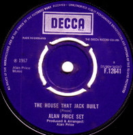 ALAN PRICE SET  -   The house that Jack built/ Who cares (599/7s)