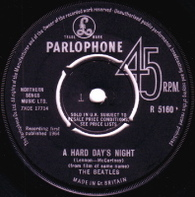 BEATLES  -   A hard day's night/ Things we said today (5922/7s)