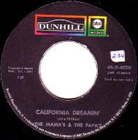MAMAS & PAPAS  -   California dreamin'/ Somebody groovy (59268/7s)