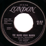 BOONE,PAT  -   The Mardi Gras March/ I'll remember tonight (6862/7s)