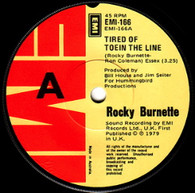 BURNETTE,ROCKY  -   Tired of toein the line/ Clowns from outer space (6878/7s)