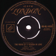 CASH,JOHNNY  -   The ways of a woman in love/ You're the nearest thing to heaven (6892/7s)