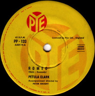 CLARK,PETULA  -   Romeo/ You're getting to be a habit with me (68105/7s)