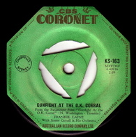LAINE,FRANKIE  -   Gunfight at the O.K. corral/ Without him (68327/7s)