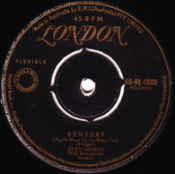 NELSON,RICKY  -   Someday (you'll want me to want you)/ I'll walk alone (68402/7s)