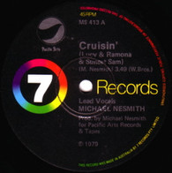 NESMITH,MICHAEL  -   Cruisin' (Lucy & Romana & Sunset Sam)/ Horserace (beauty and the magnum force) (68405/7s)