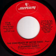 ALEXANDER RABBIT  -   The hunchback of Notre Dame/ The hunchback of Notre Dame - Part II (G691/7s)