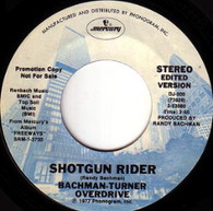 BACHMAN-TURNER OVERDRIVE  -   Shotgun rider/ Shotgun rider (edited version) (G6924/7s)