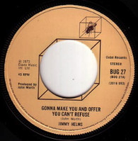 HELMS,JIMMY  -   Gonna make you an offer you can't refuse/ Words & music (G69227/7s)