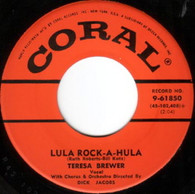 BREWER,TERESA  -   Lula rock-a-hula/ Teardrops in my heart (7259/7s)