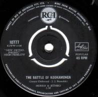HOMER & JETHRO  -   Battle of Kookamonga/ Waterloo (72238/7s)