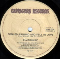 BISHOP,ELVIN  -   Fooled round and fell in love/ Slick titty boom (G7359/7s)