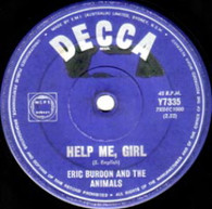 BURDON,ERIC & ANIMALS  -   Help me, girl/ You're on my mind (G7558/7s)