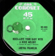 FRANKLIN,ARETHA  -   Rock-a-bye your baby with a dixie melody (G75148/7s)