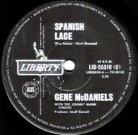 MCDANIELS,GENE  -   Spanish lace/ Somebody's waiting (G75285/7s)