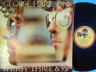 HARRISON,GEORGE  -  THIRTY THREE & 1/3  (G87214/LP)
