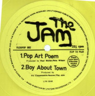 JAM  -   Pop art poem/ Boy about town (G76135/7s)