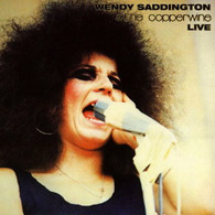 SADDINGTON/WENDY & COPPERWINE - LIVE (DELUXE DIGIPAK REISSUE WITH 28 PAGE BOOKLET)    (CD23771/CD)