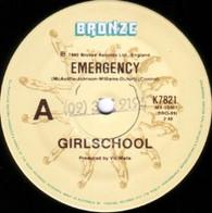 GIRLSCHOOL  -   Emergency/ Furniture fire (G76102/7s)