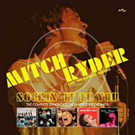 RYDER/MITCH AND THE DETROIT WHEELS - SOCKIN' IT TO YOU : THE COMPLETE DYNOVOICE / NEW VOICE RECORDINGS (3CD)    (CD25739/CD)