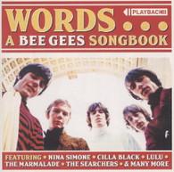 VARIOUS - WORDS : A BEE GEES SONGBOOK    (CD25763/CD)