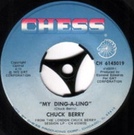 BERRY,CHUCK  -   My ding-a-ling/ Let's boogie (G7737/7s)