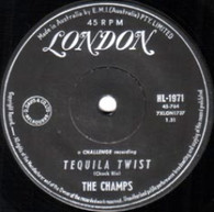 CHAMPS  -   Tequila twist/ Limbo rock (G7776/7s)