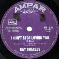 CHARLES,RAY  -   I can't stop loving you/ Born to lose (G7777/7s)