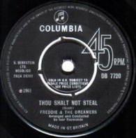 FREDDIE & DREAMERS  -   Thou shalt not steal/ I don't know (G77212/7s)