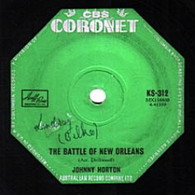 HORTON,JOHNNY  -   Battle of New Orleans/ All for the love of a girl (G77246/7s)