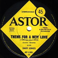 JONES,DAVY  -   Theme from a new love/ The girl from Chelsea (G77277/7s)