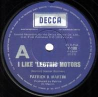 MARTIN,PATRICK D.  -   I like 'lectric motors/ Time (G77311/7s)