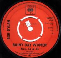 DYLAN,BOB  -   Rainy day women #12 & 35/ Like a rolling stone (G771011/7s)