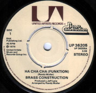 BRASS CONSTRUCTION  -   Ha cha cha (funktion)/ Sambo (progression) (G7974/7s)