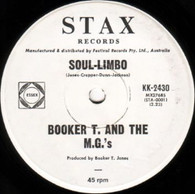 BOOKER T & M.G.'S  -   Soul-limbo/ Heads or tails (G7959/7s)