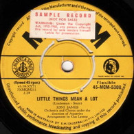 JAMES,JONI  -   Little things mean a lot/ I laughed at love (G79262/7s)